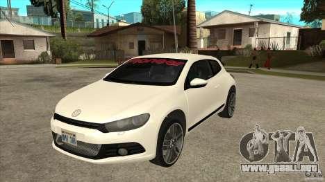 Volkswagen Scirocco 2009 para GTA San Andreas