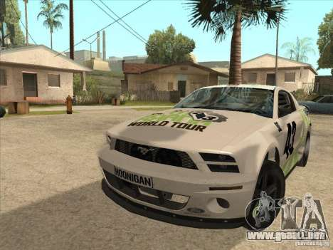 Ford Mustang Ken Block para GTA San Andreas