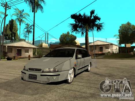 Fiat Marea Weekend para GTA San Andreas
