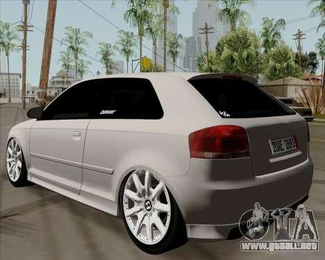 Audi S3 V.I.P para GTA San Andreas left