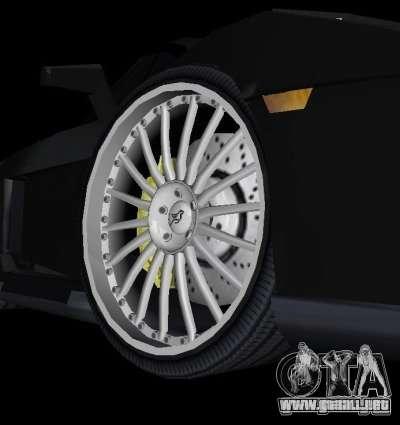 Lamborghini Gallardo Hamann Tuning para GTA Vice City vista posterior