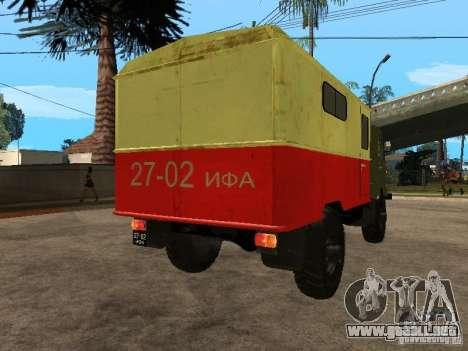 GAZ 66 para GTA San Andreas left