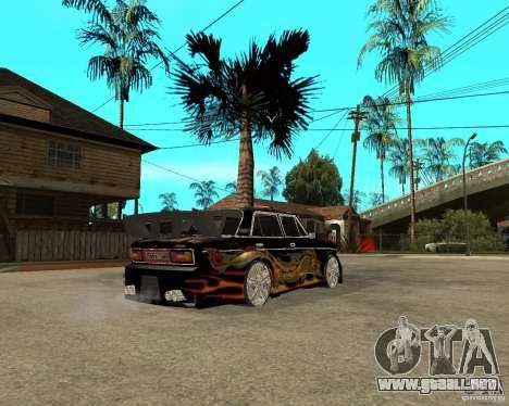 Melodía 2106 VAZ GTX para la visión correcta GTA San Andreas