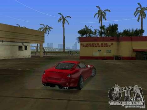 Ferrari 599 GTB para GTA Vice City vista lateral izquierdo