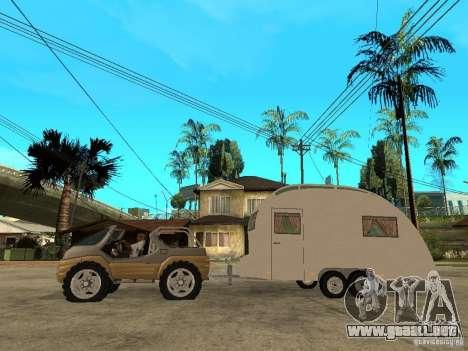 Ford Intruder 4x4 Concept + Caravan para GTA San Andreas left