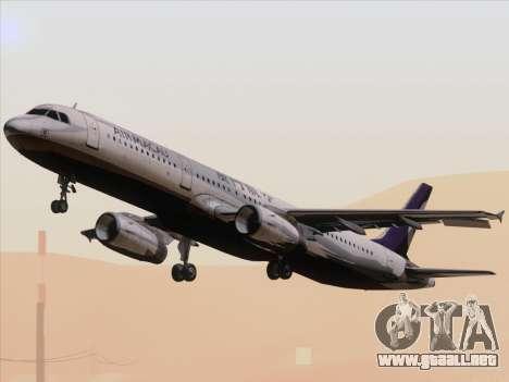Airbus A321 Air Macau para visión interna GTA San Andreas