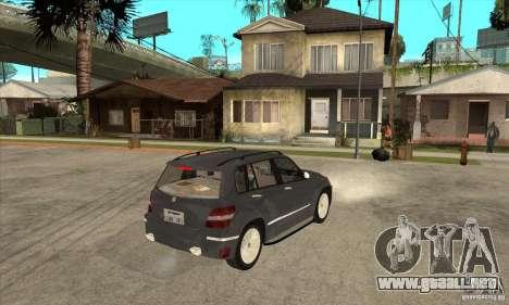 Mercedes Benz GLK300 para la visión correcta GTA San Andreas