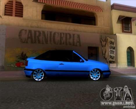 Volkswagen Golf III para visión interna GTA San Andreas