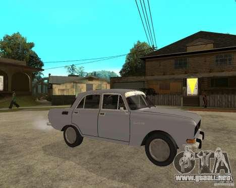 AZLK Moskvich 2140- para la visión correcta GTA San Andreas