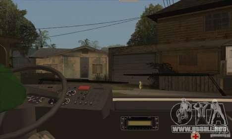 LAZ 52078 (trazador de líneas-12) para visión interna GTA San Andreas