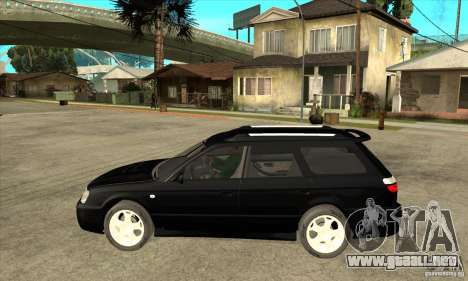 Subaru Legacy Station Wagon para GTA San Andreas left