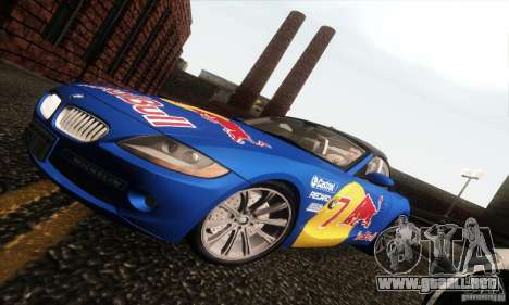 BMW Z4 para GTA San Andreas interior