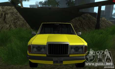 Nuevas texturas para auto para GTA San Andreas