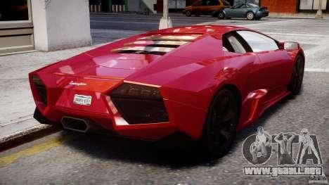 Lamborghini Reventon Final para GTA 4 vista superior
