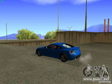 Toyota GT86 Limited para GTA San Andreas left