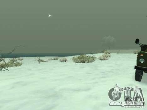 Frozen bone country para GTA San Andreas quinta pantalla