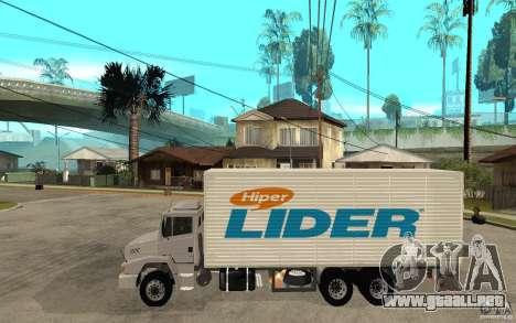 Camiun Hiper Lider para GTA San Andreas left
