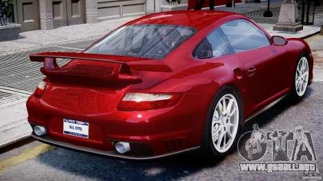 Posrche 911 GT2 para GTA 4 vista superior
