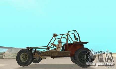 Half-Life Buggy para GTA San Andreas vista posterior izquierda