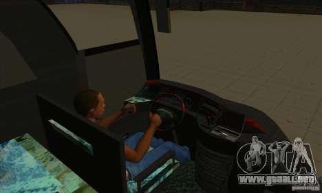 Mercedes-Benz Travego para vista lateral GTA San Andreas