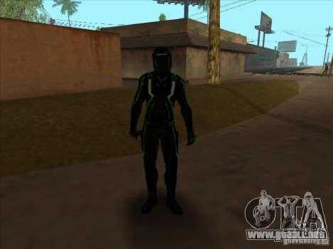 Un personaje del juego Tron: Evolution para GTA San Andreas quinta pantalla