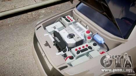 Mitsubishi Pajero Wagon para GTA 4 vista interior