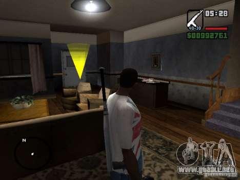 El jugador se ve donde ves para GTA San Andreas