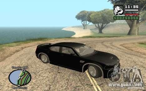 Dodge Charger SRT8 para GTA San Andreas vista hacia atrás