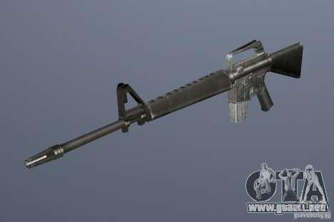 M16A1 para GTA Vice City tercera pantalla