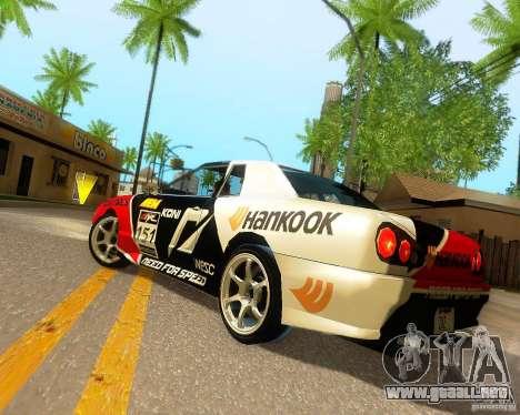 Need for Speed Elegy para el motor de GTA San Andreas
