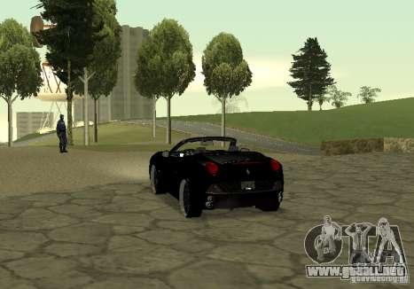 Ferrari California 2011 para GTA San Andreas left