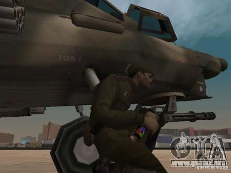 Mi-28 para vista inferior GTA San Andreas
