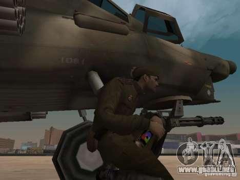 Mi-28 para vista inferior GTA San Andreas