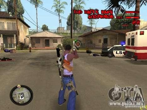 Hud by Dam1k para GTA San Andreas tercera pantalla