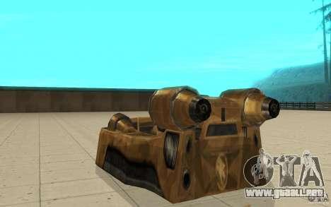 El vórtice del juego Command y Conquer Renegado para GTA San Andreas vista posterior izquierda