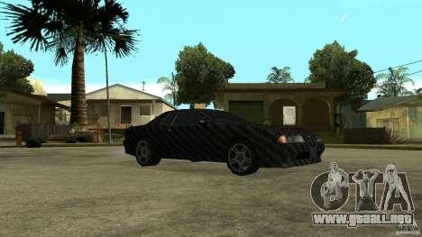 Elegy Carbon Style V 1.00 para la visión correcta GTA San Andreas