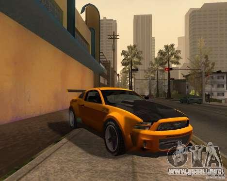 Ford Mustang GT-R 2010 para GTA San Andreas