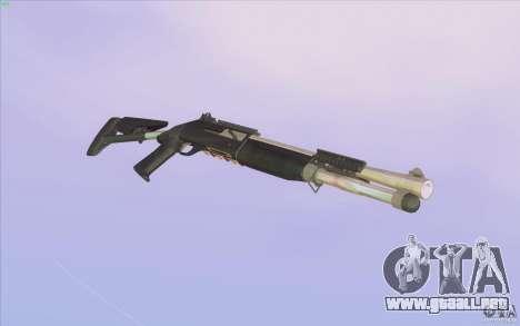 Low Chrome Weapon Pack para GTA San Andreas sucesivamente de pantalla