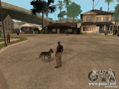 Perro en GTA San Andreas para GTA San Andreas