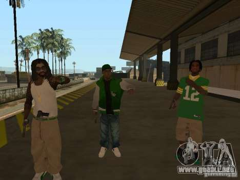 Nuevos aspectos Grove para GTA San Andreas tercera pantalla