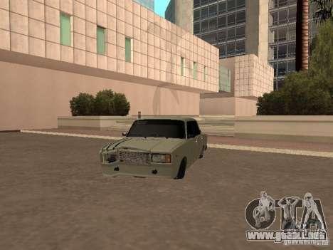 VAZ 2107 roto para GTA San Andreas left