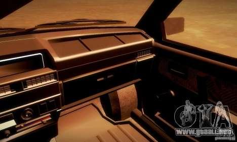 VAZ 2108 v2.0 para la visión correcta GTA San Andreas