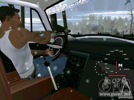 IZH-27151 para GTA San Andreas vista posterior izquierda