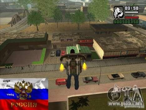 Tiendas rusas detrás de la casa de CJ para GTA San Andreas