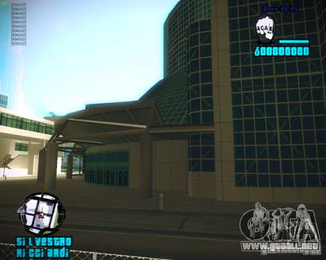 HUD de Silvestro para GTA San Andreas