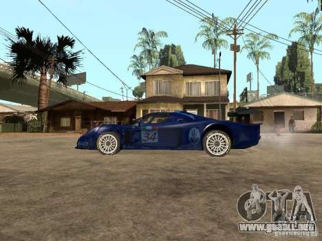 Maserati MC 12 GTrace para GTA San Andreas left