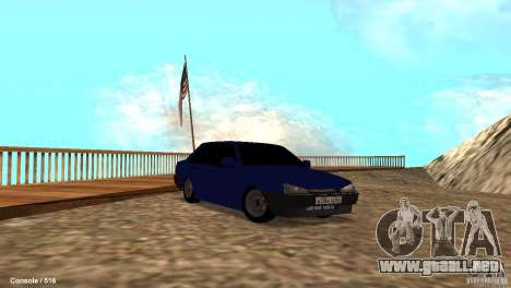 BAZ 21099 para vista inferior GTA San Andreas