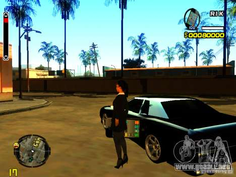 IPhone granate v2 para GTA San Andreas segunda pantalla