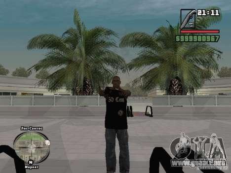 tapa del tanque de 50 cent para GTA San Andreas tercera pantalla