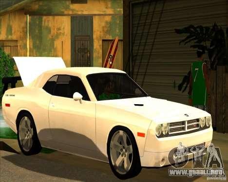 Hermoso entorno ENBSeries para GTA San Andreas sucesivamente de pantalla